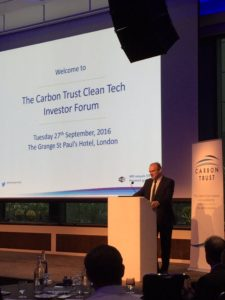 13.10.16 Exhibition at Clean Tech Investment ForumNews Blog News for Homepage