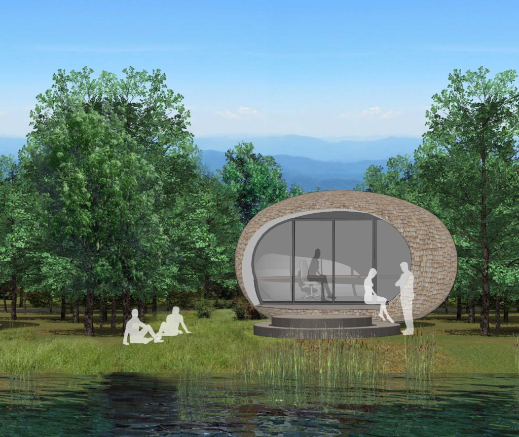 New visuals released of PassivPod garden officeNews Blog News for Homepage
