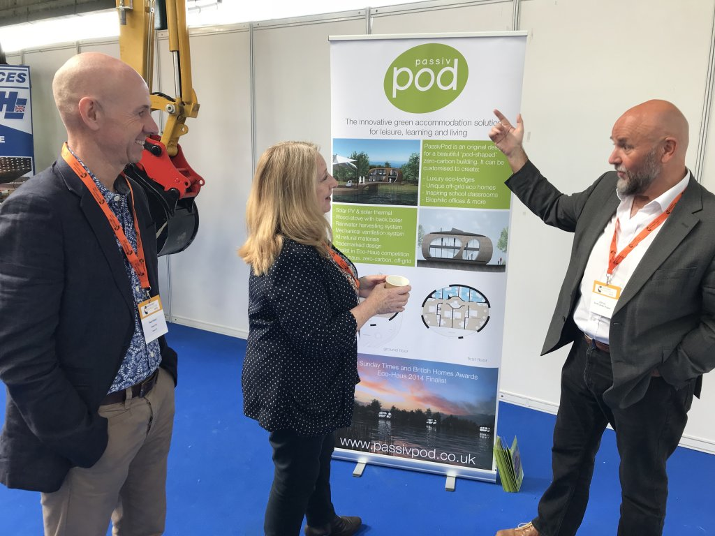 17.9.18 PassivPod team attends South East Construction Expo 2018News Blog News for Homepage