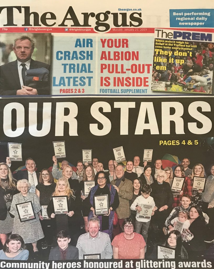 The Argus, January 2019Press Coverage