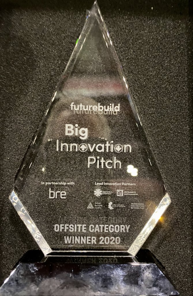 23.03.20 PassivPod gains FutureBuild awardNews Blog Uncategorised